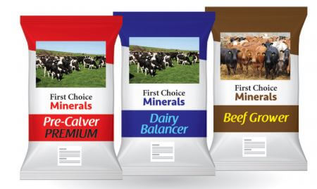 Bags of First choice Provimi minerals