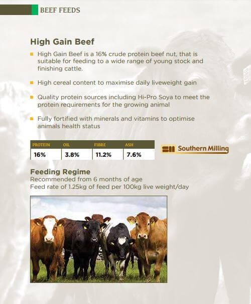 Beef Feed East Cork Southern Fuel & Farm Supplies