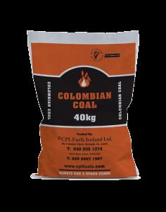 Bag of Colombian coal