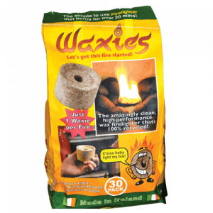 Bag of Waxies fire starter
