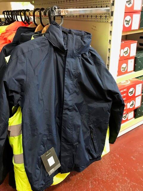 Navy agri workwear jacket